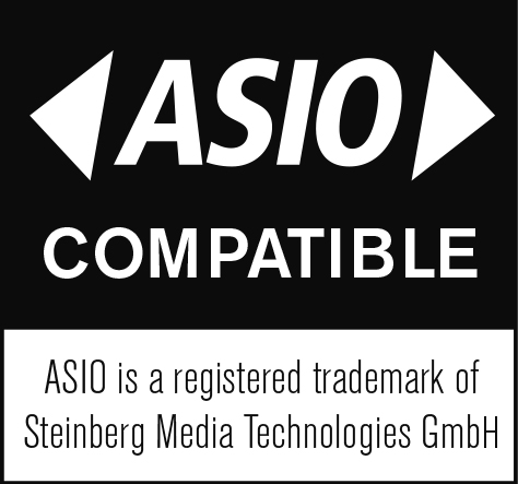 ASIO is a registered trademark of Steinberg Media Technologies GmbH